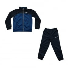 Nike Juniors Tricot 416 Track Suit (Navy)