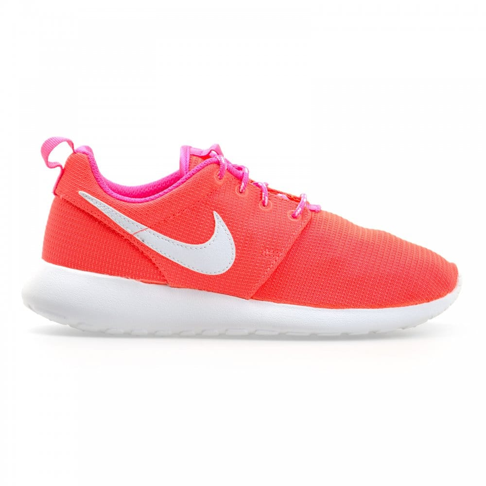 pink roshe run kids