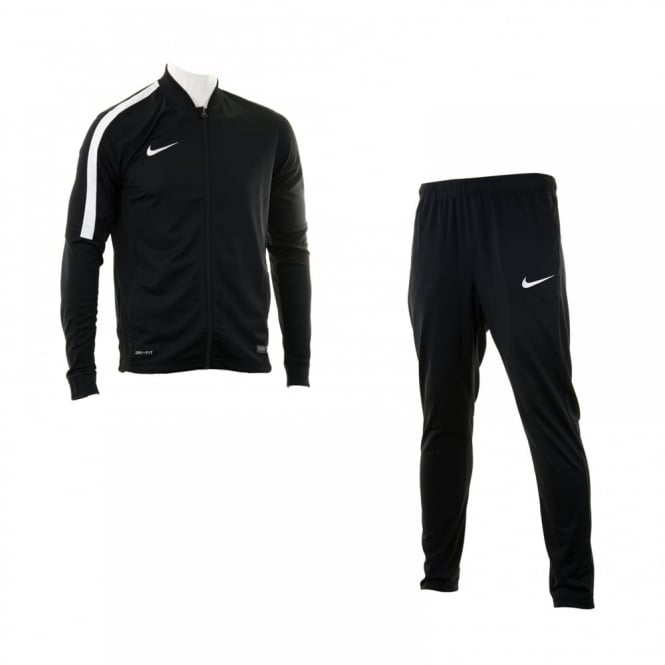 345b9ec24dd8 nike mens academy 2 tracksuit black track suits from loofes uk. LOOFES‑ CLOTHING