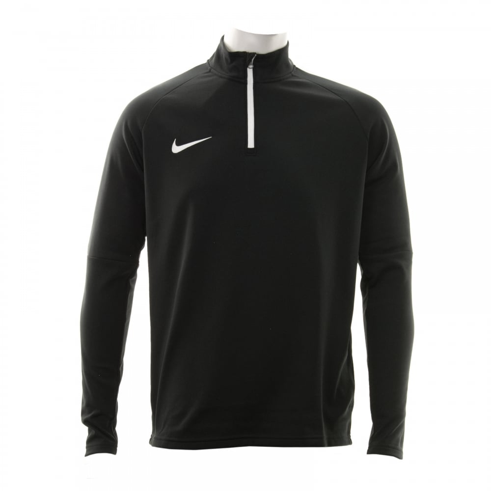 9cbe709be3c5 NIKE Nike Mens Academy Dri-Fit 416 Drill Top (Black) - Mens from ...