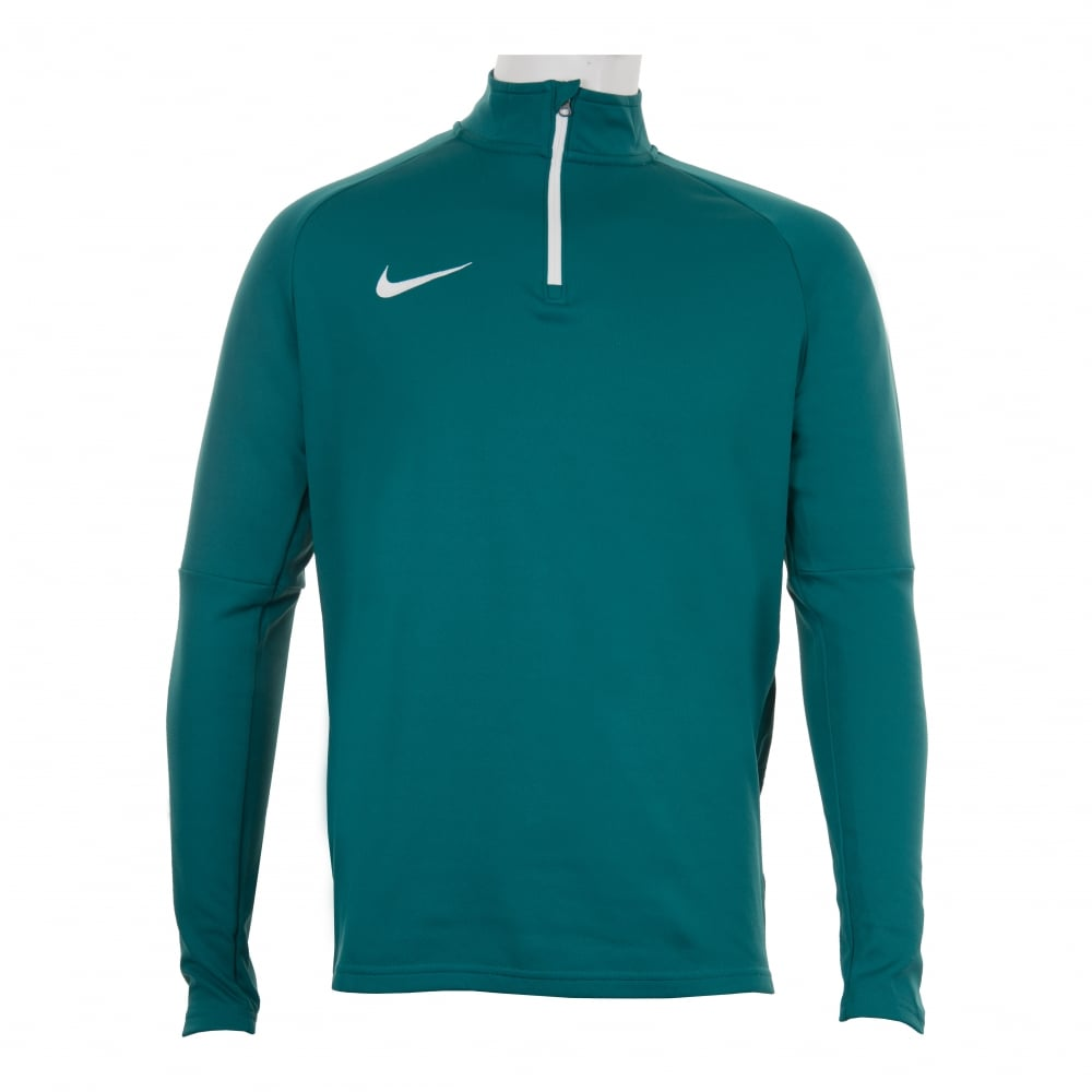 68bf3a400c65 NIKE Nike Mens Academy Dri-Fit 416 Drill Top (Blue) - Mens from ...