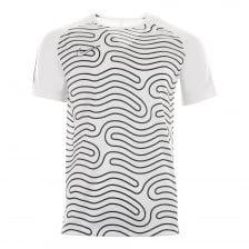 Nike Mens Academy Graphic Top 2 118 T-Shirt (White/Black)