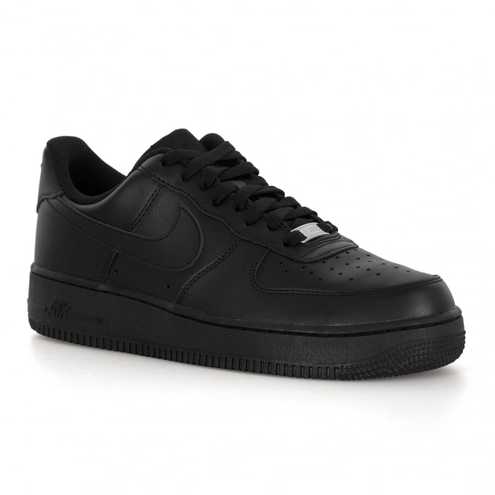 359b2a0d843 Nike Mens Air Force 1 Low Trainers (Black) - Mens from Loofes UK