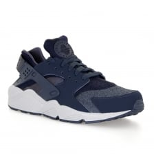 Nike Mens Air Huarache 317 Trainers (Blue/White)