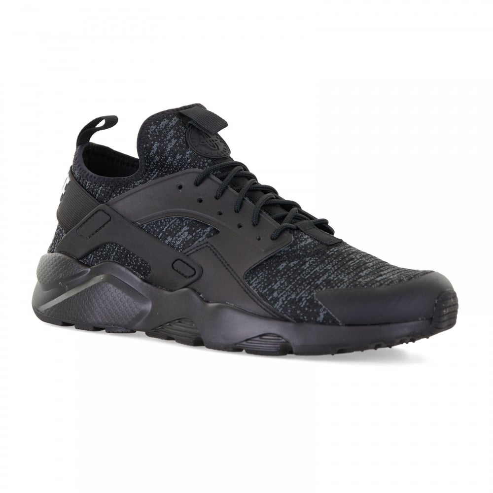 Nike Mens Air Huarache Run Ultra SE Trainers (Black/Grey)