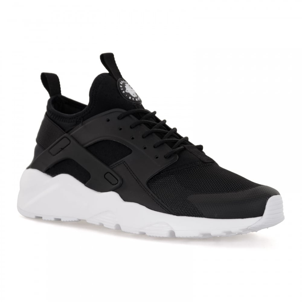 reputable site e38b7 0cde7 ... sweden nike mens air huarache run ultra trainers black white 5b547 36ced