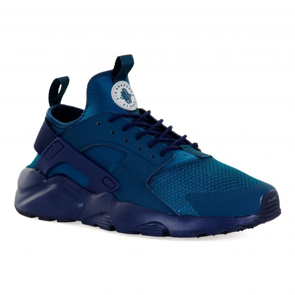 Nike Mens Air Huarache Run Ultra Trainers (Blue) - Mens from Loofes UK 3c35b2dd0d