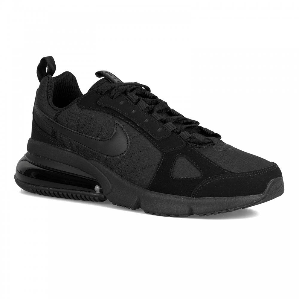 online store 9e1a2 03476 Nike Mens Air Max 270 Futura Trainers (Black Black)