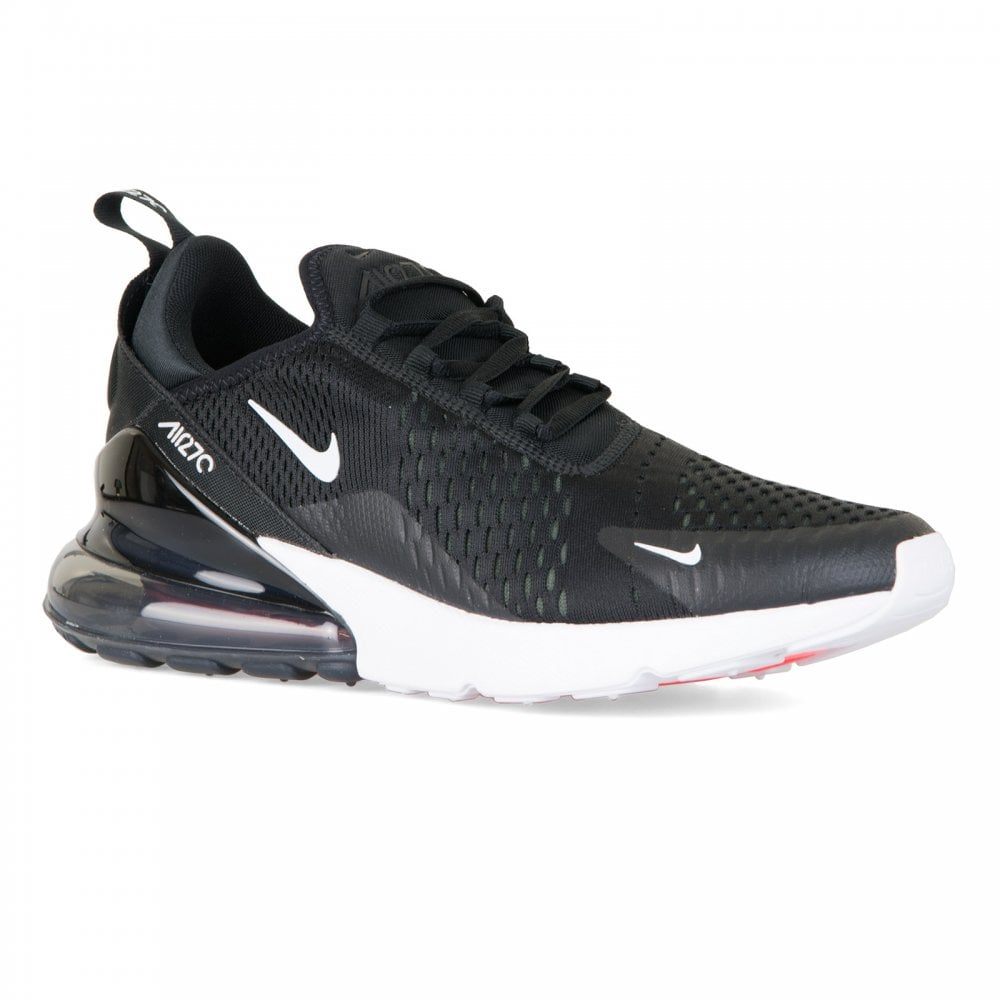 check out 1100e 4efd7 Mens Air Max 270 Trainers (Black/White)