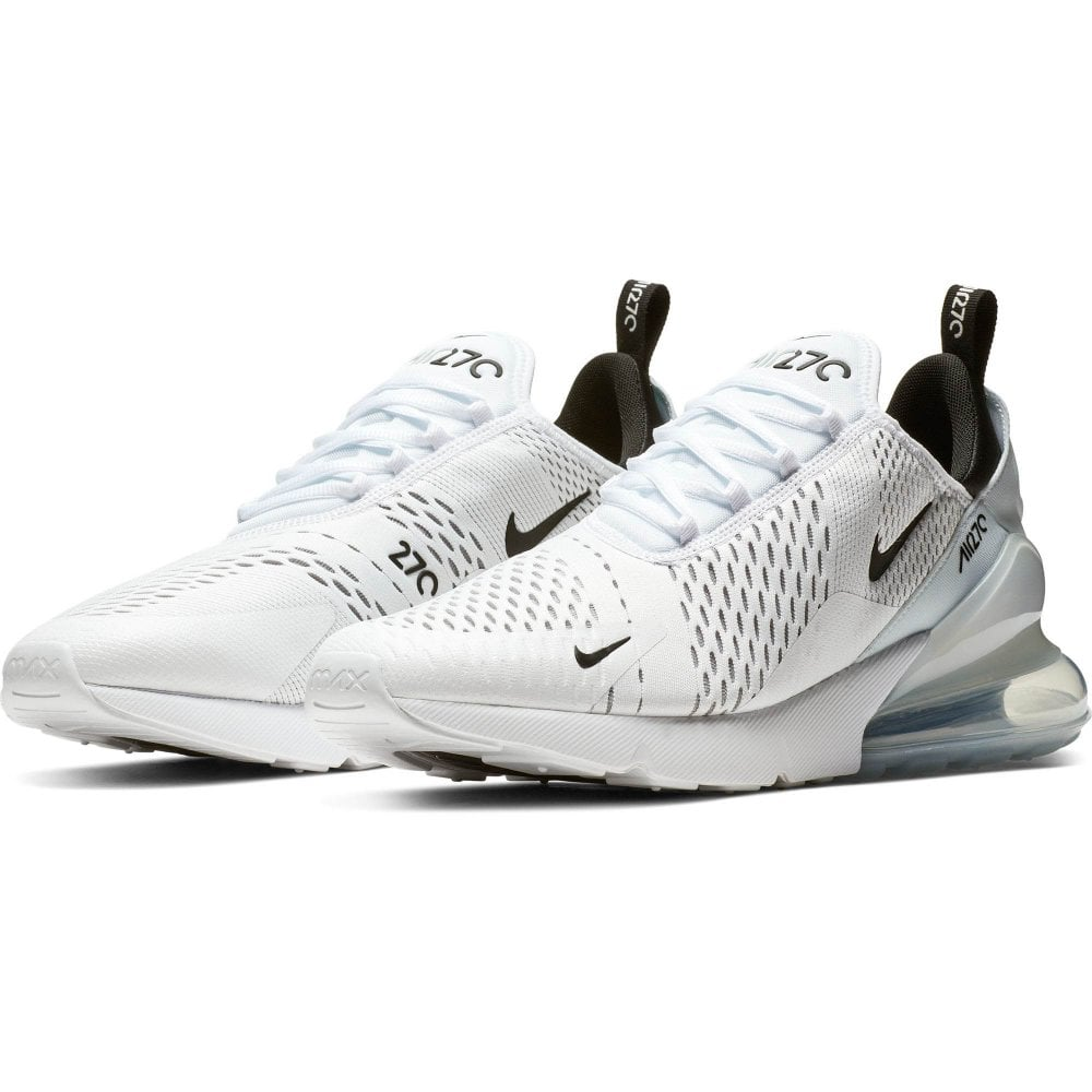 on sale 48ec3 0158c Mens Air Max 270 Trainers (White/Black)