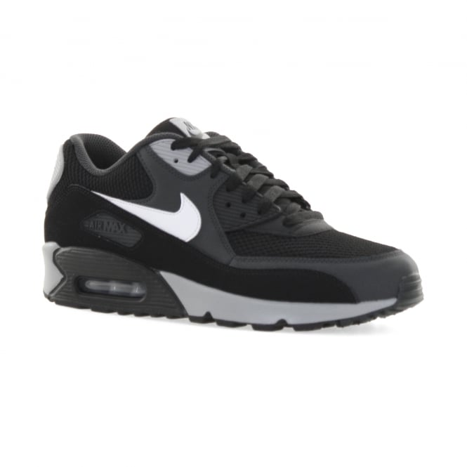 free shipping 0a68a 90d5b 537384063 OL102TT 519238243. nike mens air max 90 essential 117 trainers black  white grey from loofes uk
