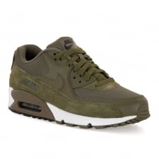 Nike Mens Air Max 90 Essential 317 Trainers (Olive)