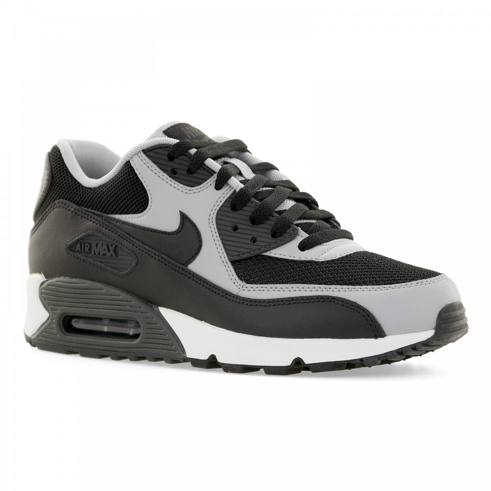 Nike Air Max 90 Essential Black Wolf Grey Anthracite 537384