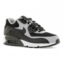 38e182737f Nike Mens Air Max 90 Essential 416 Trainers (Black/Wolf Grey/Anthracite)