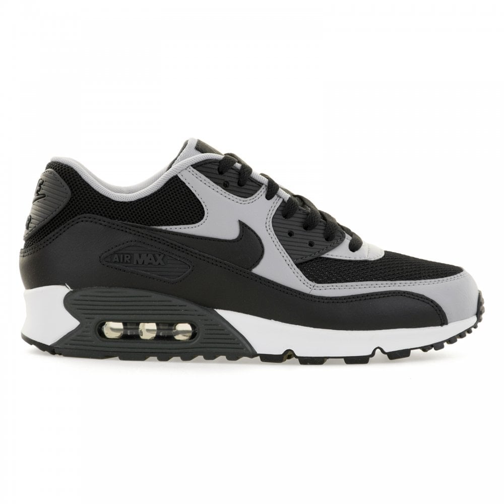 buy online db52c 64779 Mens Air Max 90 Essential 416 Trainers (Black/Wolf Grey/Anthracite)