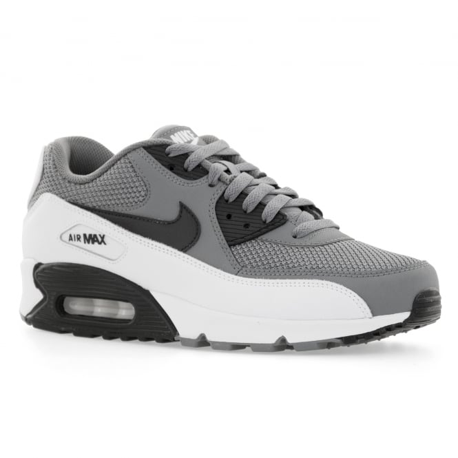 nike mens air max 90 essential 416 trainers cool grey black white from  loofes uk. LOOFES‑CLOTHING