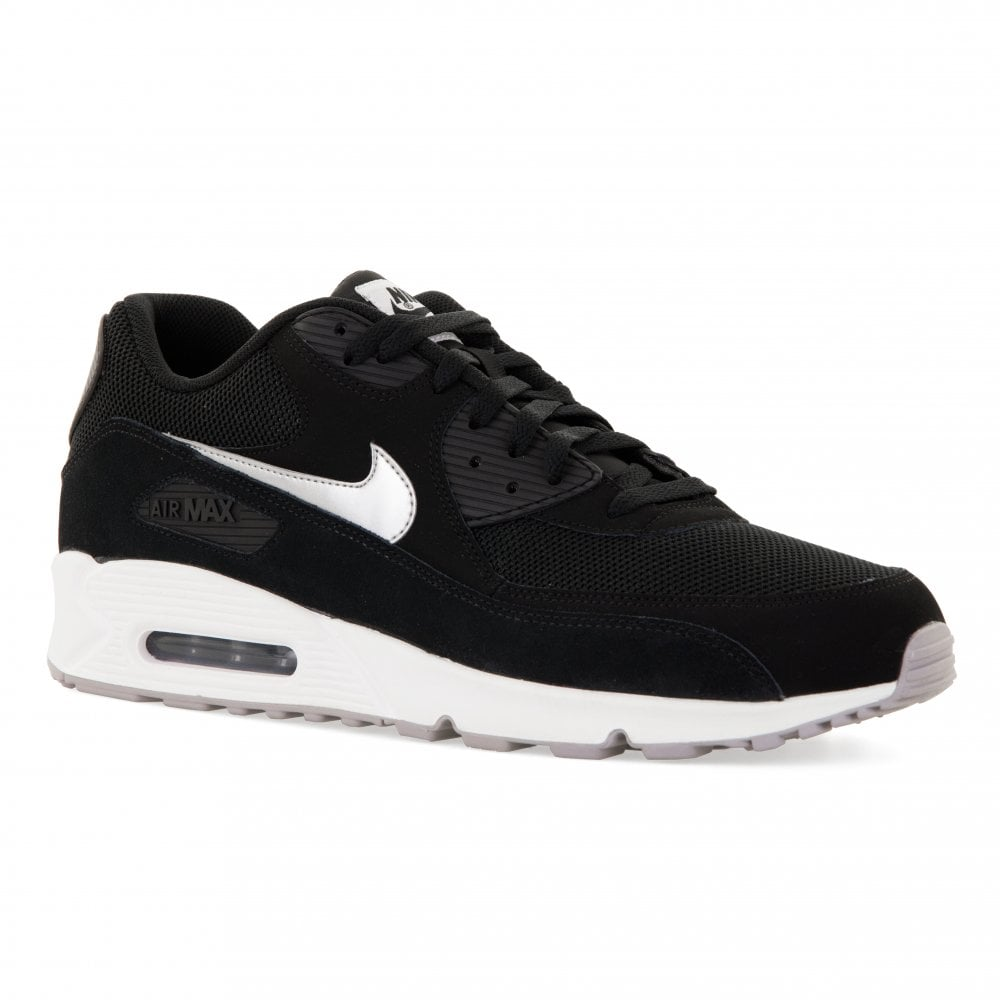 Nike Mens Air Max 90 Essential Size 14 Trainers (Black) - Mens from ... 35bb37775