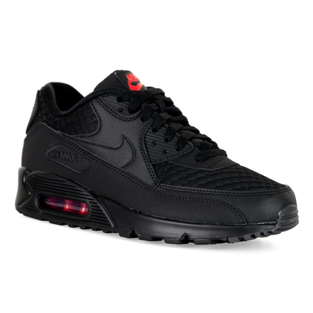 black nike air max 90 essential