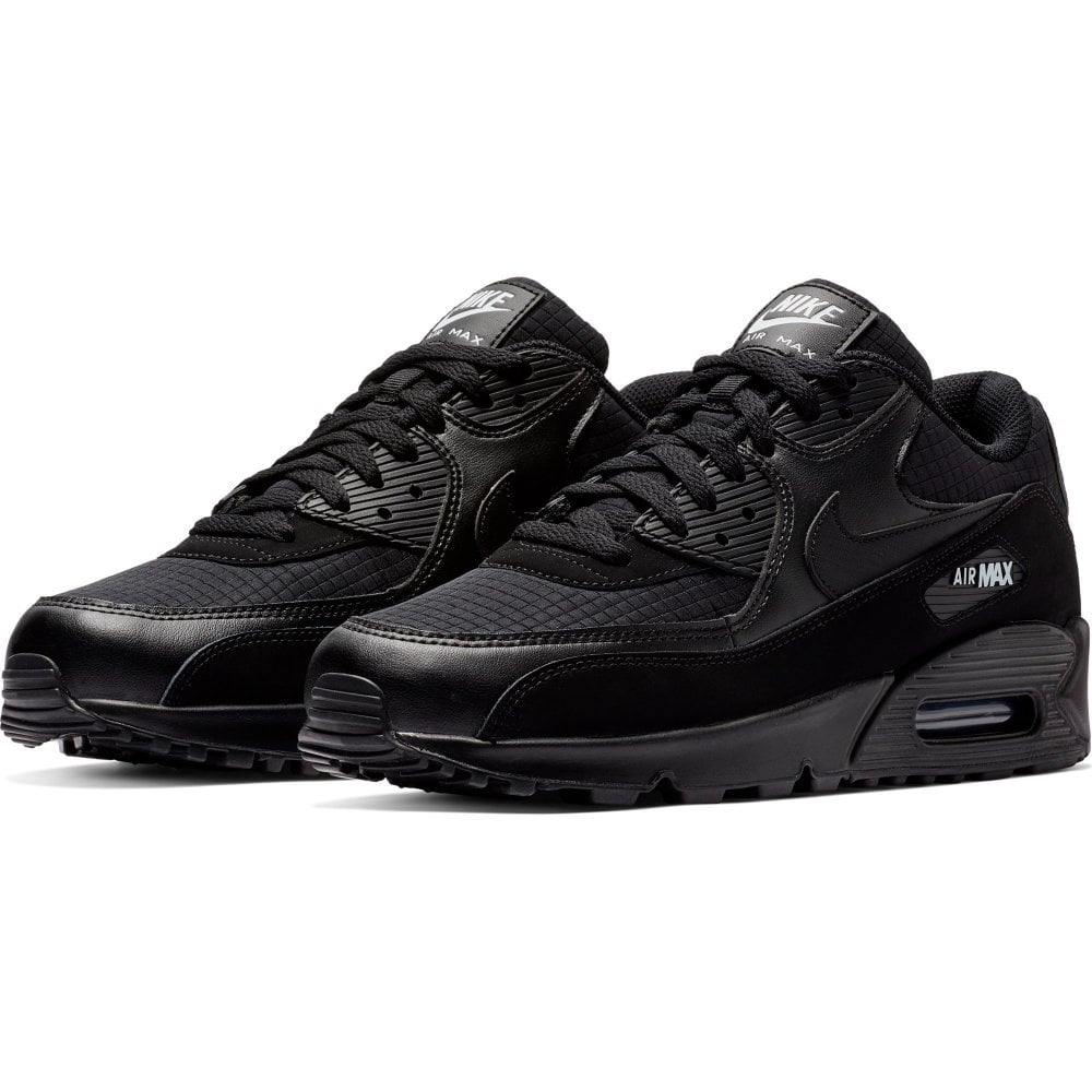 cheap for discount 82ebc a221b Mens Air Max 90 Essential Trainers (Black / White)
