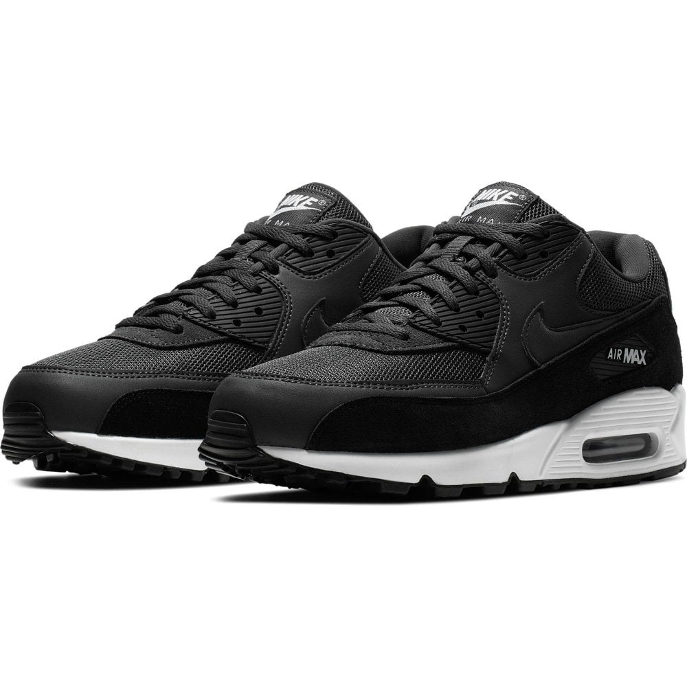 NIKE Nike Mens Air Max 90 Essential Trainers (Black Grey