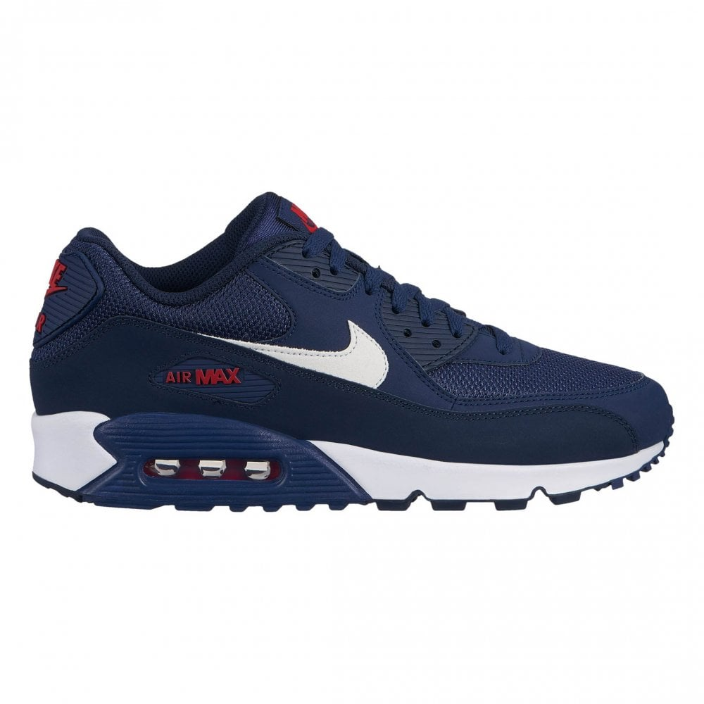 check out bb27b f130f Nike Mens Air Max 90 Essential Trainers (Navy)