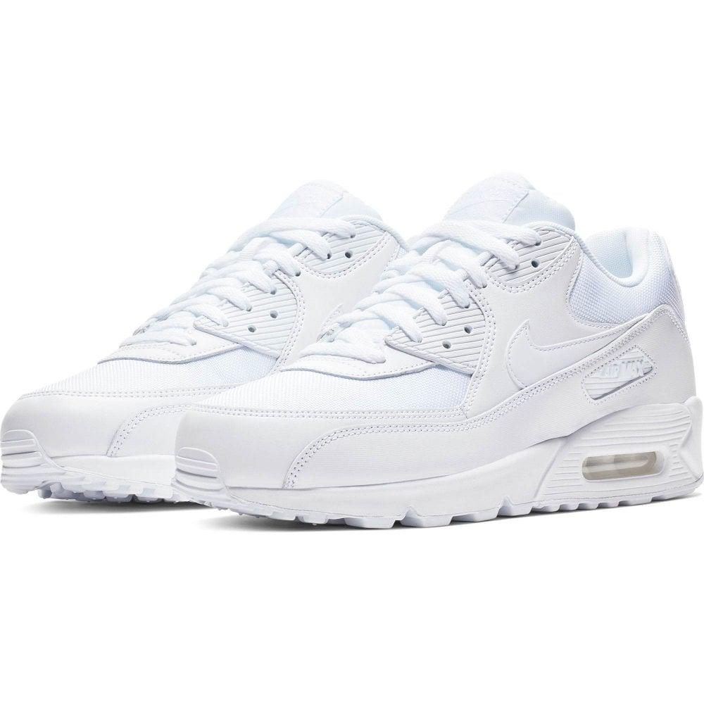 e04b3a17b6d16c NIKE Nike Mens Air Max 90 Essential Trainers (White) - Mens from ...