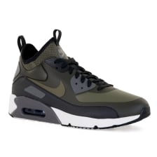 Nike Mens Air Max 90 Ultra Mid Winter 417 Trainers (Olive)