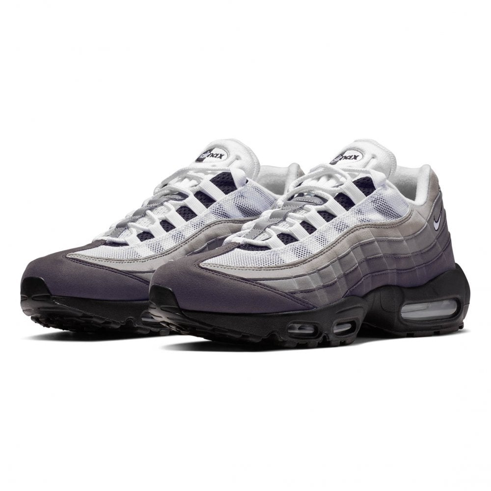 2edfd93037 Nike Mens Air Max 95 OG Trainers (Black / Grey / White) - Mens from ...