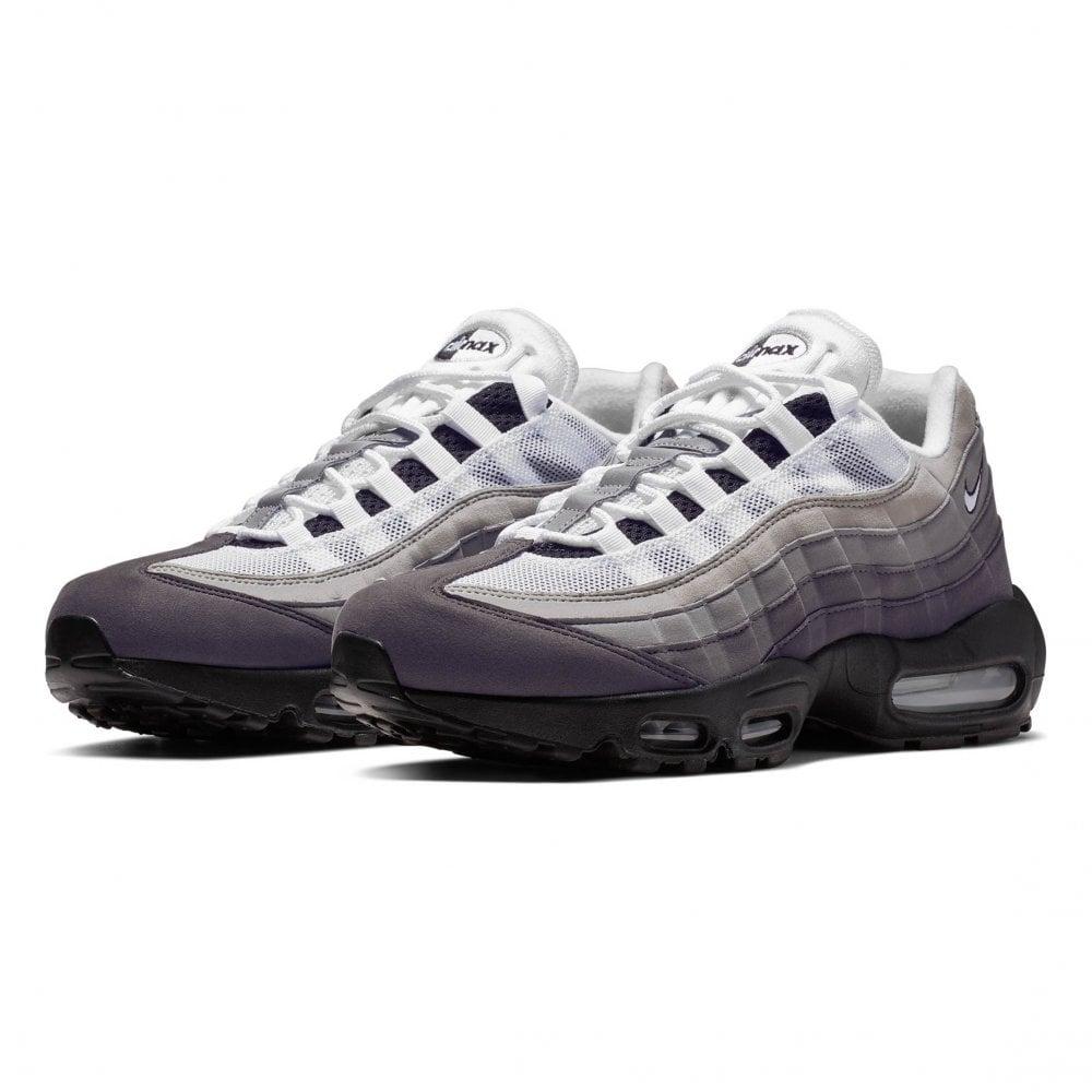 6a684a8e55948 NIKE Nike Mens Air Max 95 OG Trainers (Black / Grey / White) - Mens ...