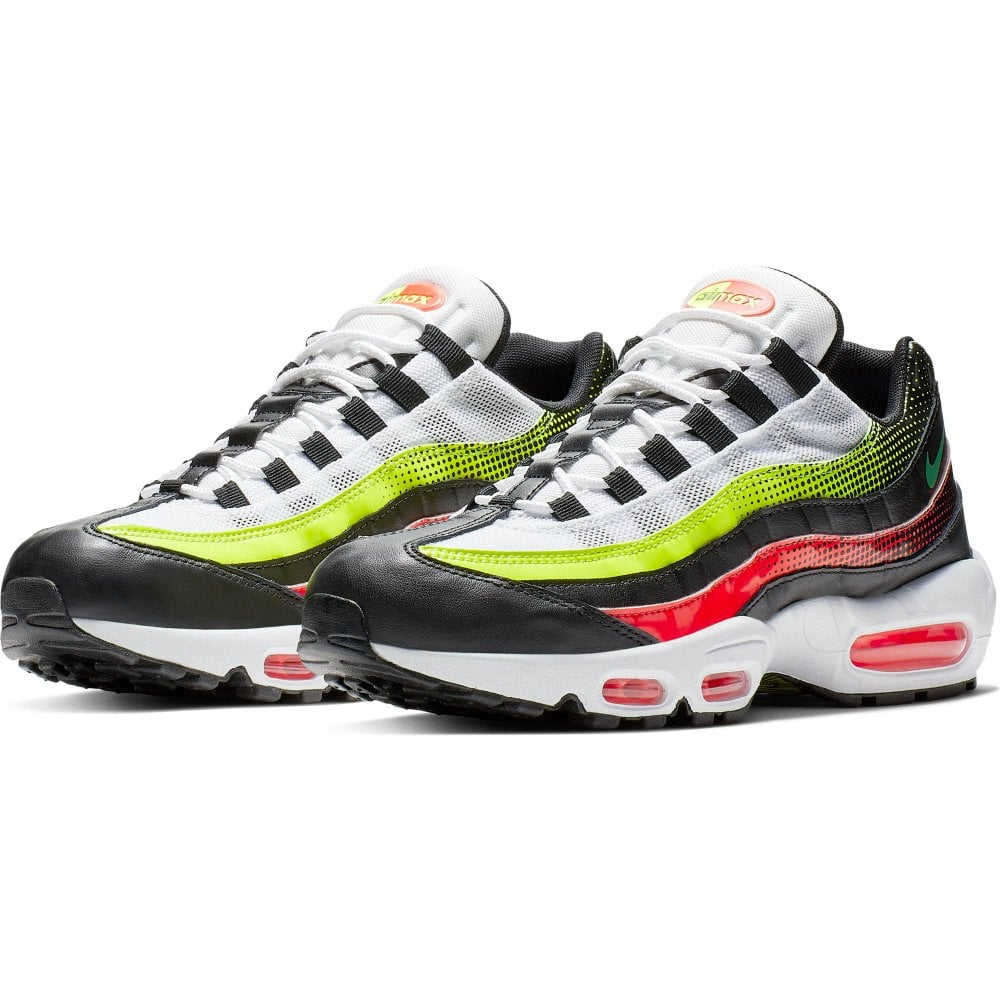 9e48e0b67 Nike Mens Air Max 95 SE Trainers (Black Multi) - Mens from Loofes UK