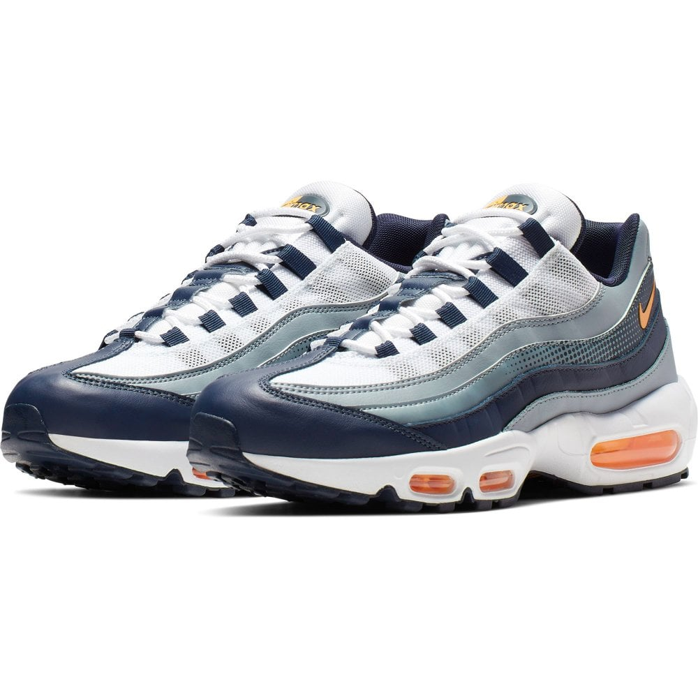 e359a157ee NIKE Nike Mens Air Max 95 SE Trainers (Navy / White) - Mens from ...