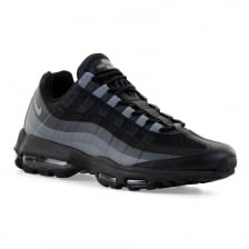 Nike Mens Air Max 95 Ultra Essential 316 Trainers (Black/Dark Grey/Anthracite)