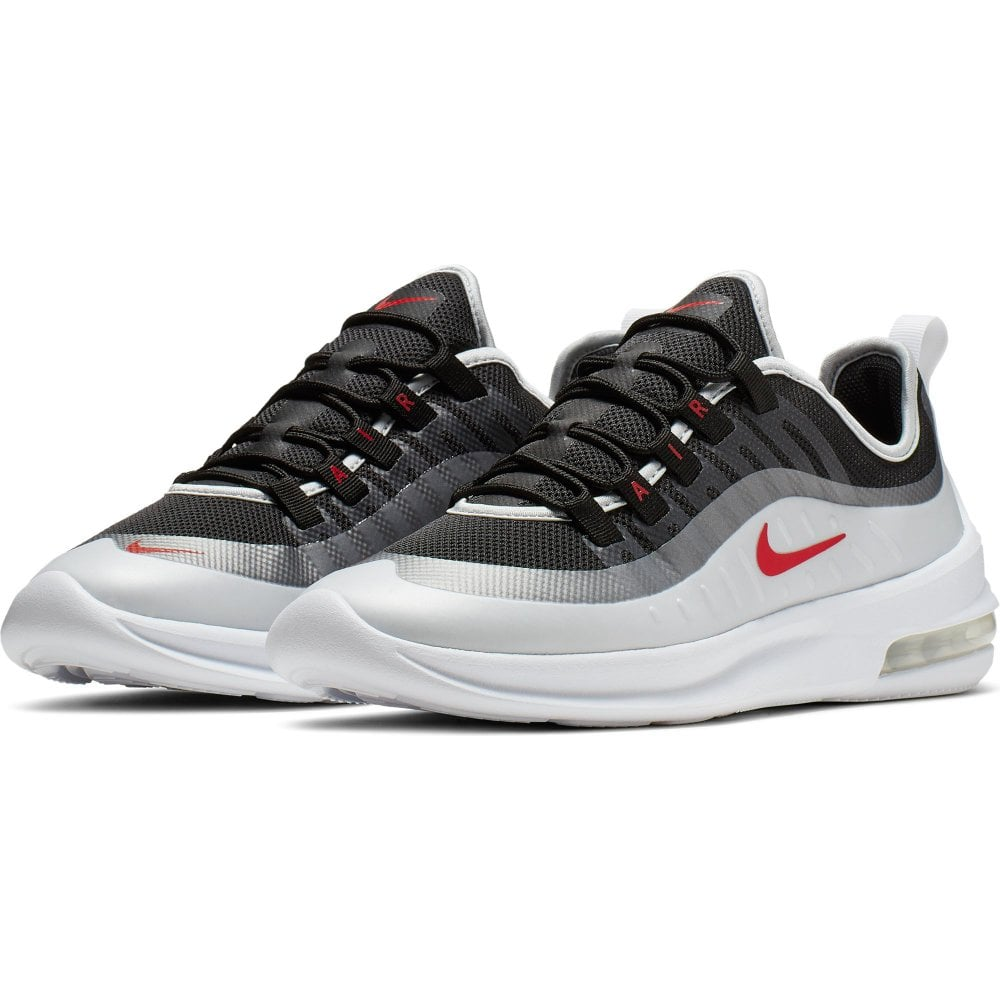 Mens Air Max Axis Trainers (Black White Red)