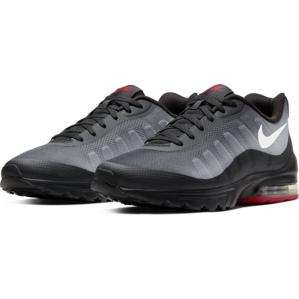 separation shoes detailed look on sale Nike Mens Air Max Invigor Print Trainers (Black/ White) - Mens ...