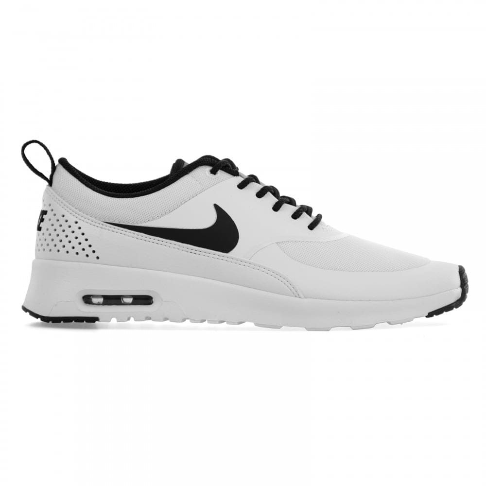 white black mens nike air max thea shoes. Black Bedroom Furniture Sets. Home Design Ideas