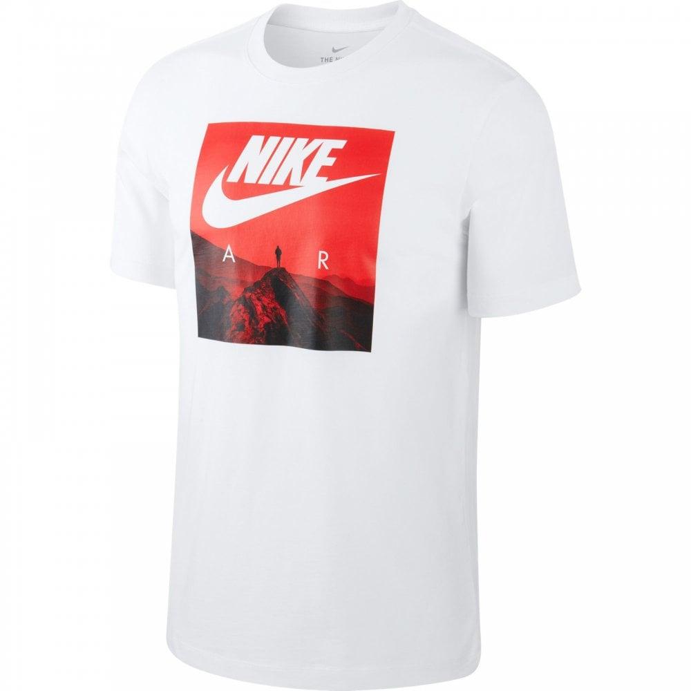 Nike Mens Air Photo T-Shirt (White