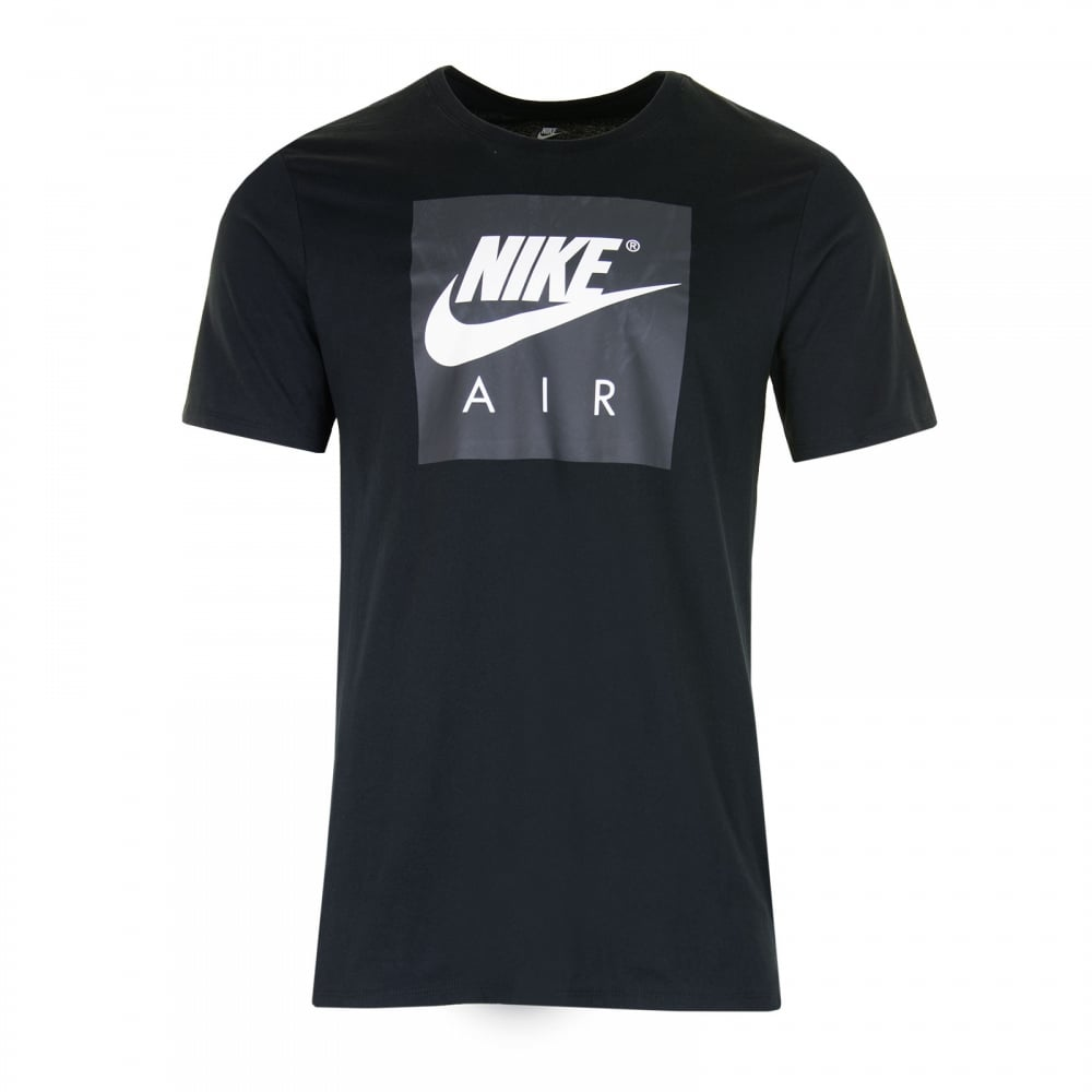 nike mens air sport t shirt black t shirts from loofes uk. Black Bedroom Furniture Sets. Home Design Ideas
