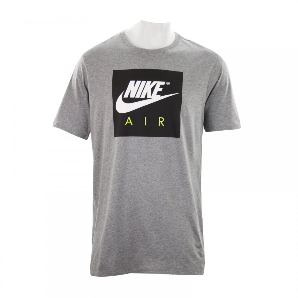 nike mens air sport t shirt grey t shirts from loofes uk. Black Bedroom Furniture Sets. Home Design Ideas