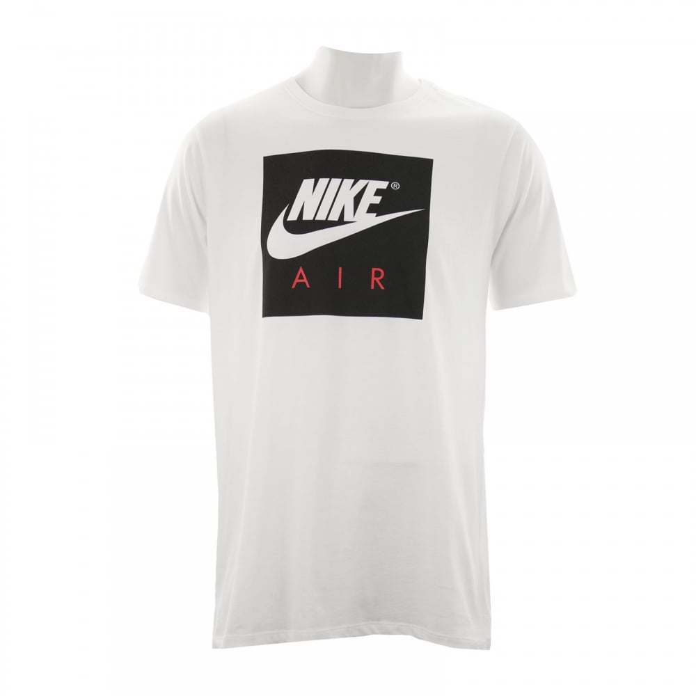 nike mens air sport t shirt white t shirts from loofes uk. Black Bedroom Furniture Sets. Home Design Ideas