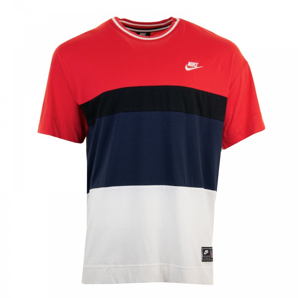ef32ee9fd89d Nike Mens Air Top T-Shirt (Red) - T-Shirts from Loofes UK