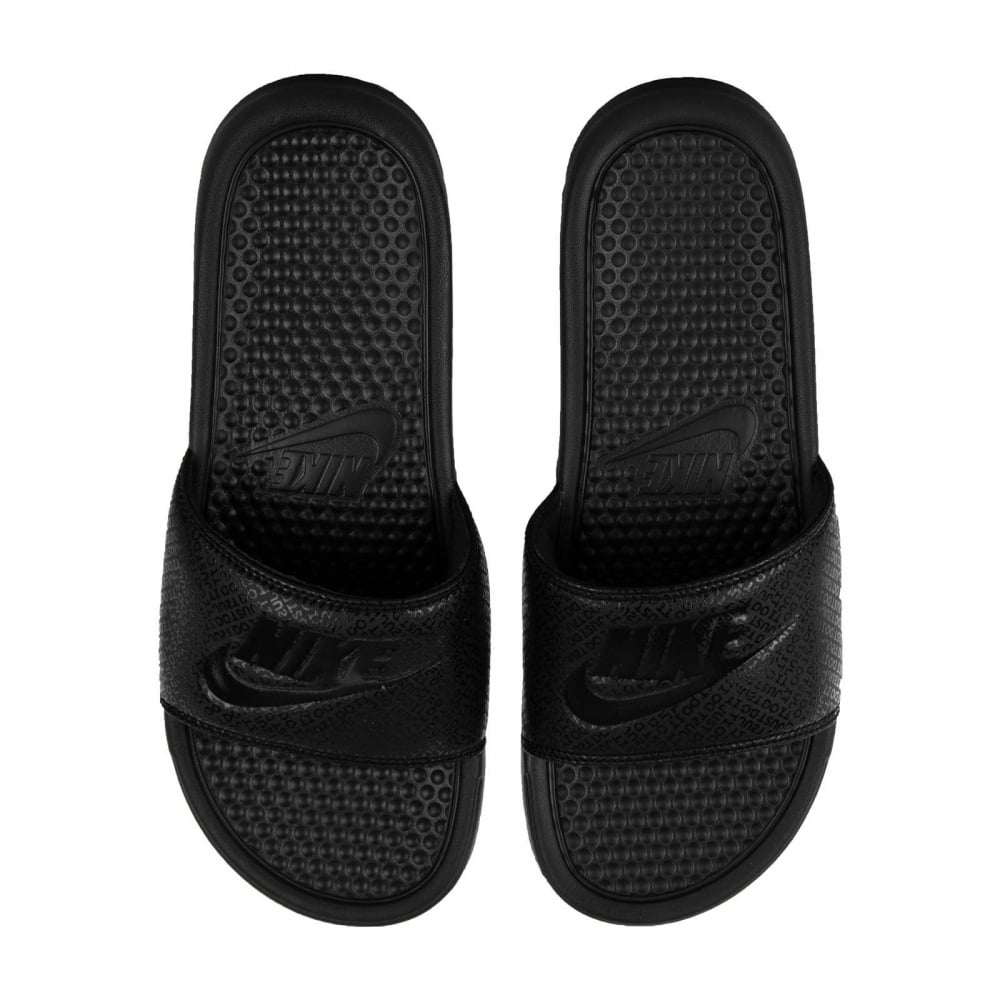 00c494bb4d57 NIKE Nike Mens Benassi JDI Slides (Black) - Mens from Loofes UK
