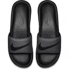 c4a7399a117e Nike Mens Benassi Solarsoft Slides (Dark Grey)