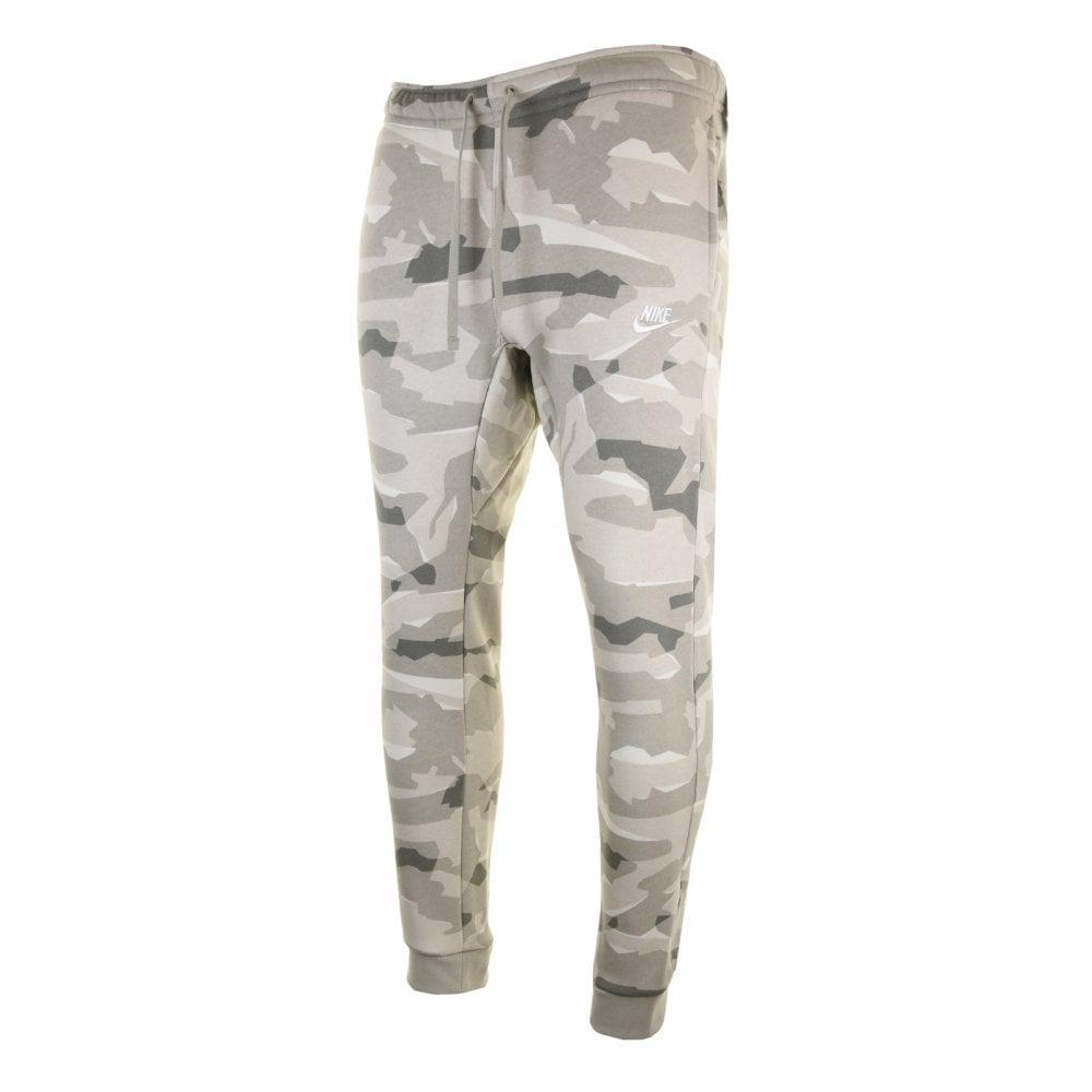 22c726c43637 Nike Mens Club Camo Fleece Joggers (Spruce) - Mens from Loofes UK
