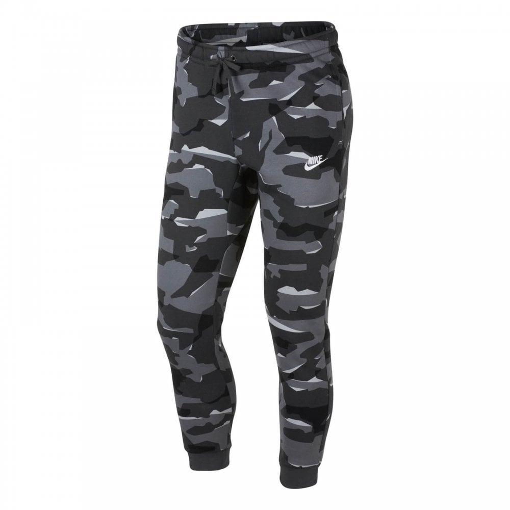 c01f7fe4d19a4 NIKE Nike Mens Club Camouflage Fleece Jogger (Dark Grey) - Mens from ...