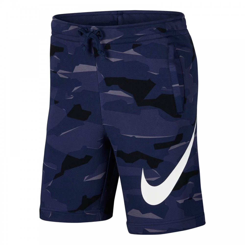 b67043a2c1715 NIKE Nike Mens Club Camouflage Shorts (Navy) - Mens from Loofes UK