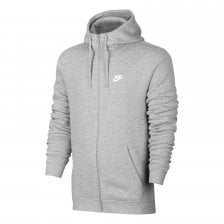 Nike Mens Club Futura Logo 316 Hooded Top (Grey)