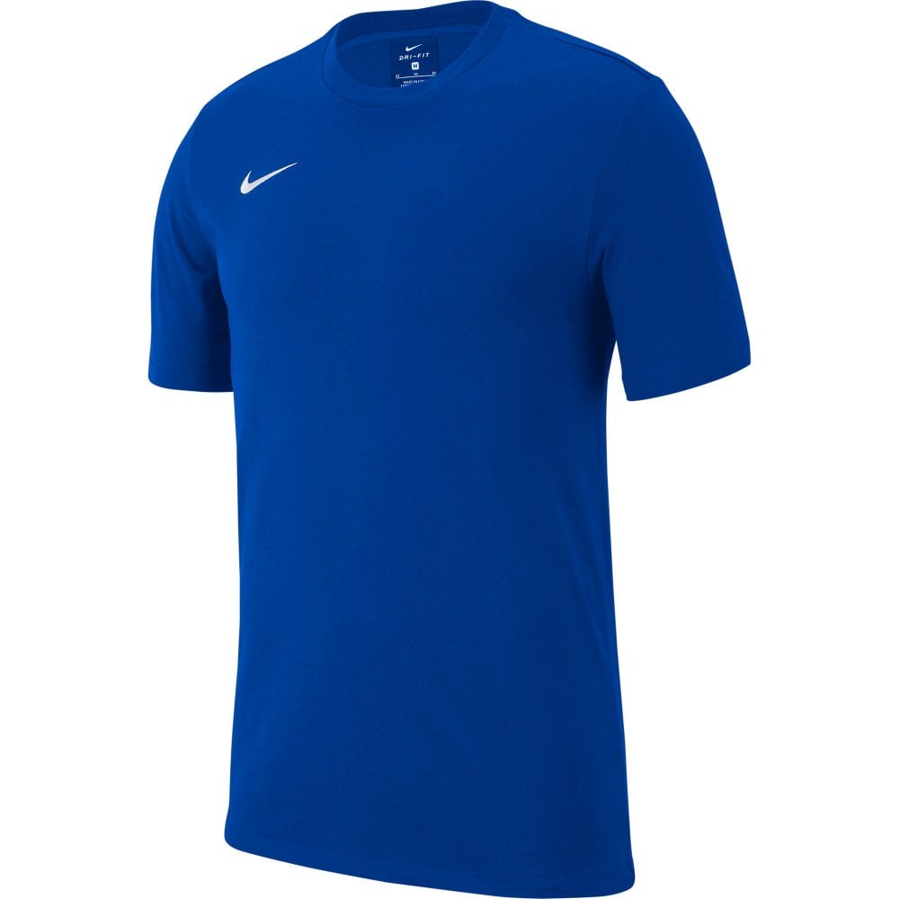 1a1dbb9a7 NIKE Nike Mens Club19 Short Sleeve T-Shirts (Blue) - Mens from Loofes UK