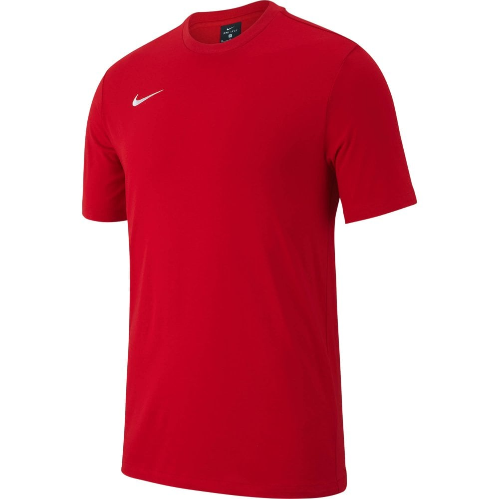 5abb8ee96 NIKE Nike Mens Club19 Short Sleeve T-Shirts (Red) - Mens from Loofes UK