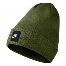 Nike Mens Futura Knitted Beanie (Olive) f9f8aa88b2fb