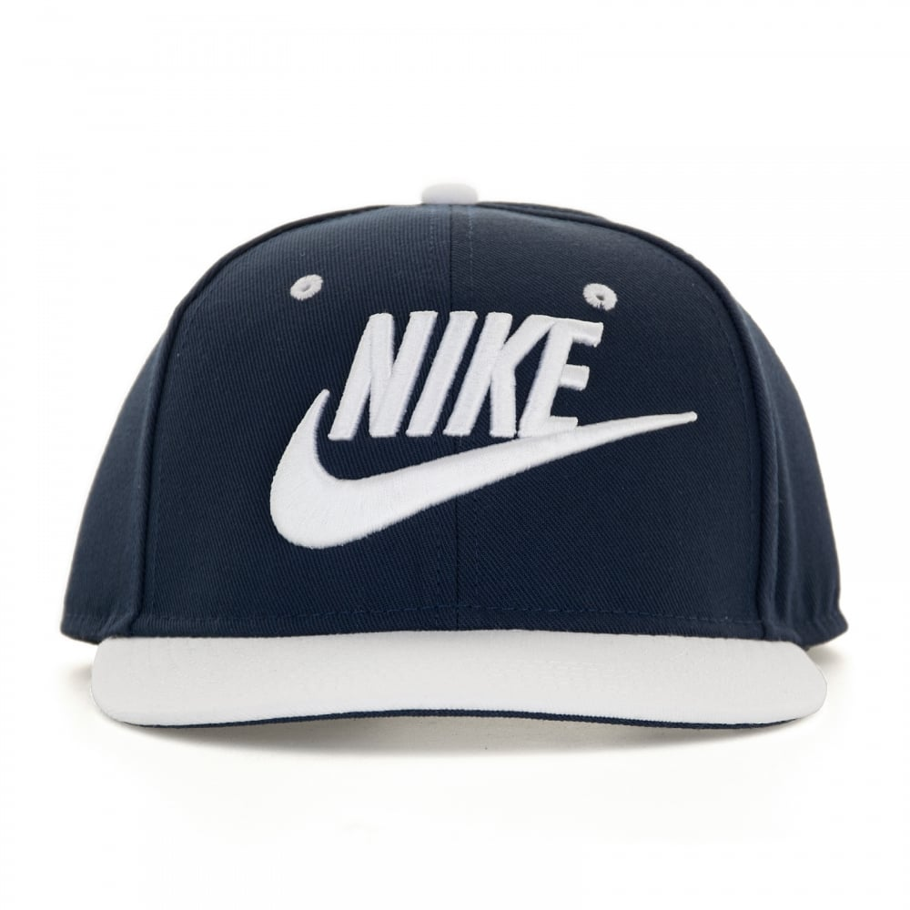 Nike Mens Futura Snapback Cap (Navy White) - Mens from Loofes UK 782fb6baea0